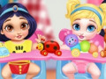 Spiele Messy Baby Princess Cleanup